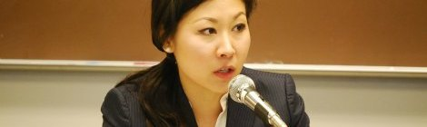 Eunice Yang on Panel at the Legally Asian Conference