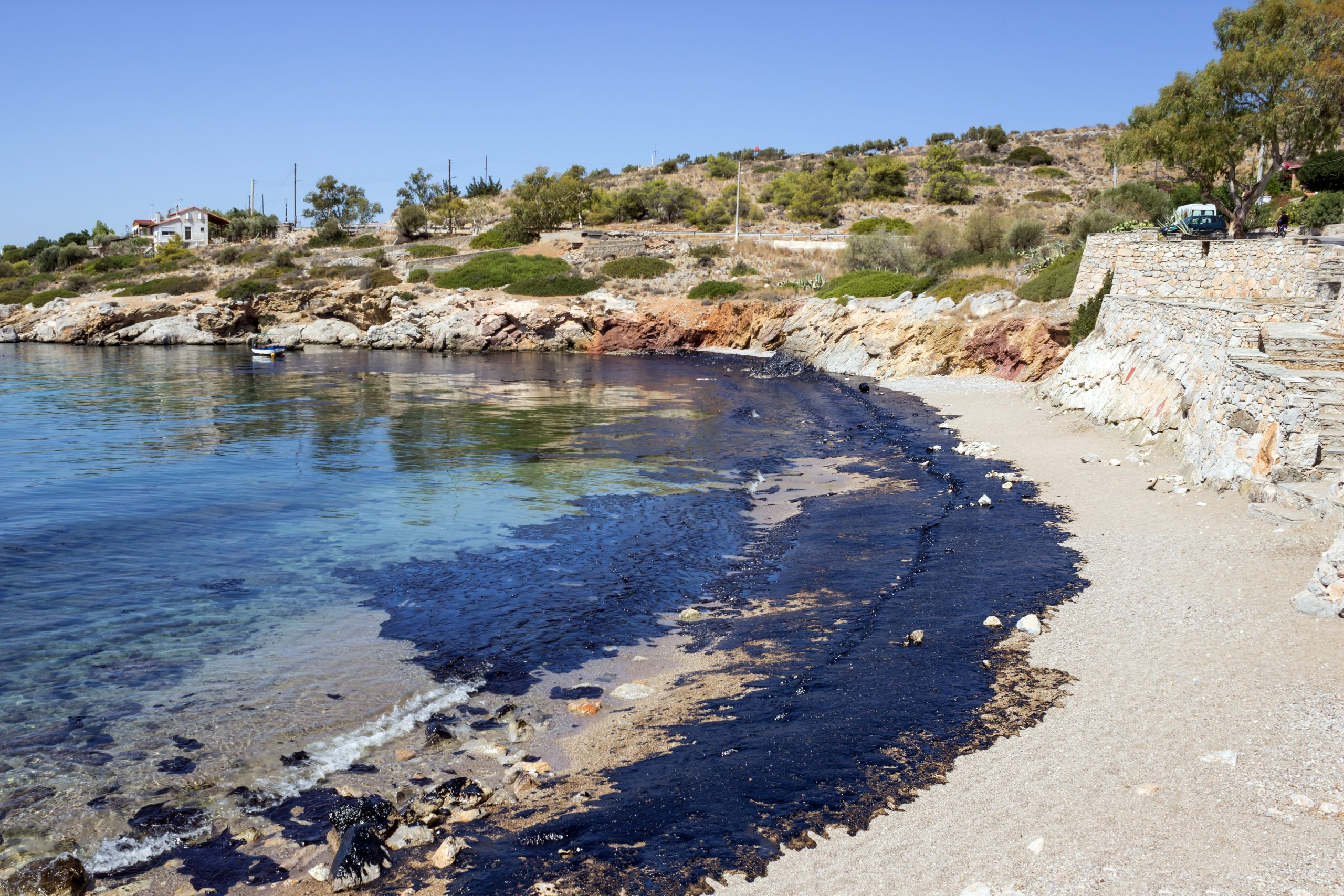 Minami Tamaki Investigating Huntington Beach Oil Spill