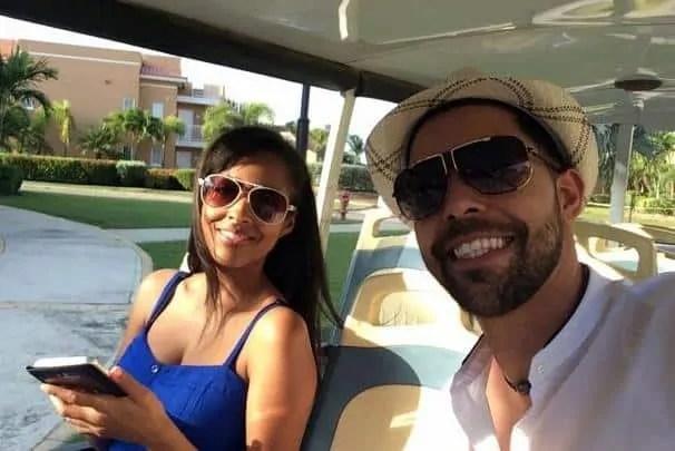 Mina Slater & J Rios in Aruba