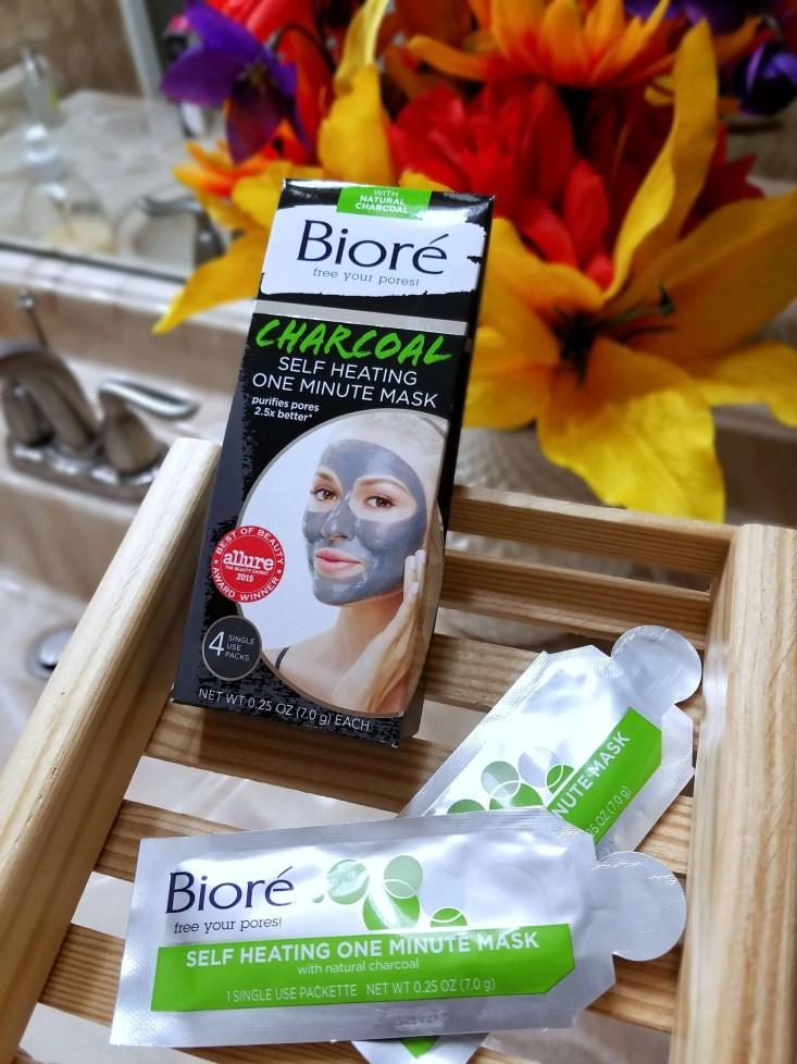 Biore Charcoal Self Heating One Minute Mask
