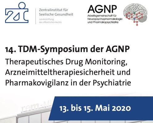 AGNP TDM Symposium 2020 Mannheim