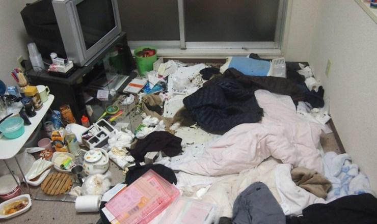 賃貸アパートでの孤独死による特殊清掃と現状回復工事(川崎市川崎区)
