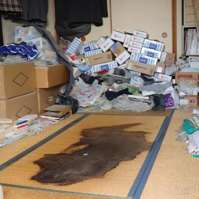 ゴミ屋敷での孤独死の遺品整理と特殊清掃作業(埼玉県久喜市)