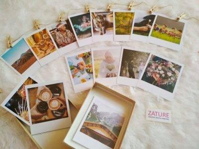 Contoh Kreasi Foto Ukuran Polaroid