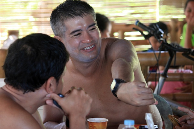Triathlete and lawyer Ingmar Macarine. MindaNews file photo by Roel N. Catoto