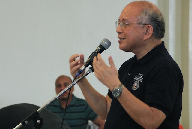 Fr. Joel Tabora, SJ, President of the Ateneo de Davao University. MindaNews photo by TOTO LOZANO