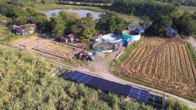 The P7.9-million Solar Powered Irrigation System (SPIS) in Barangay New Janiuay in M'lang, North Cotabato Province is rendered useless for lack of water supply due to El Niño. Photo taken on March 25, 2019. Photo courtesy of Keith Bacongco