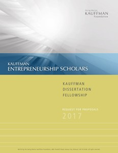 Kauffman Dissertation Fellowships