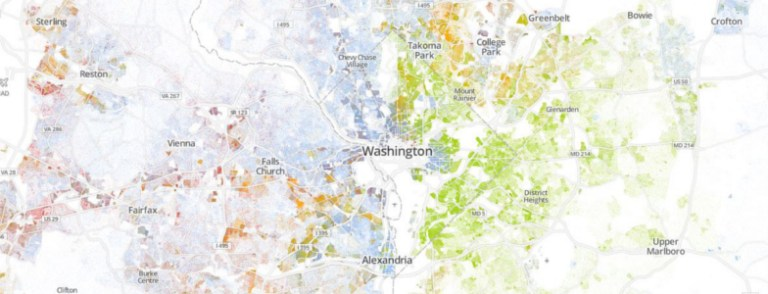 The Racial Dot Map: One Dot Per Person | Weldon Cooper Center for Public Service