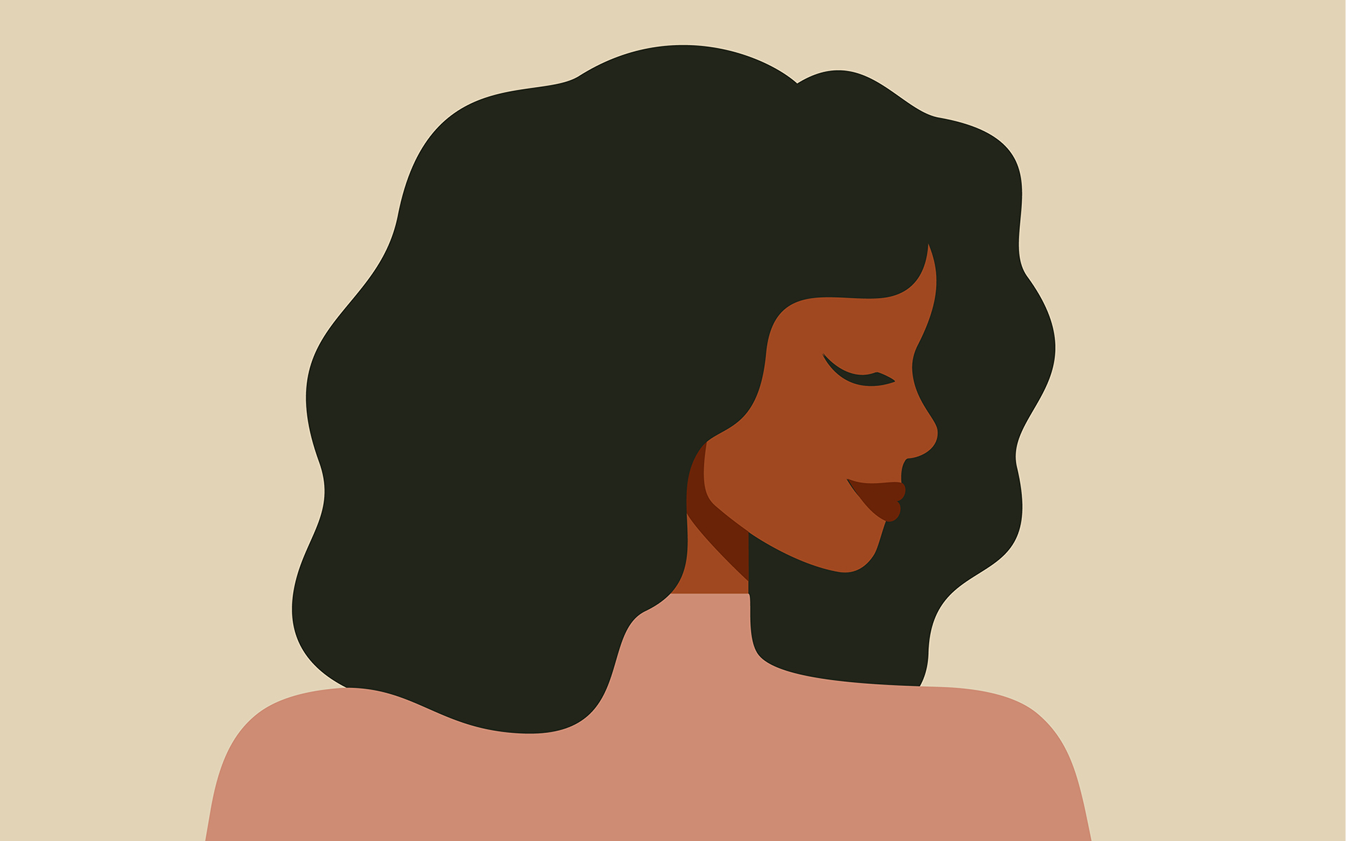 5 Benefits of Mindfulness for BIWOC - Portrait of a Black woman in profile