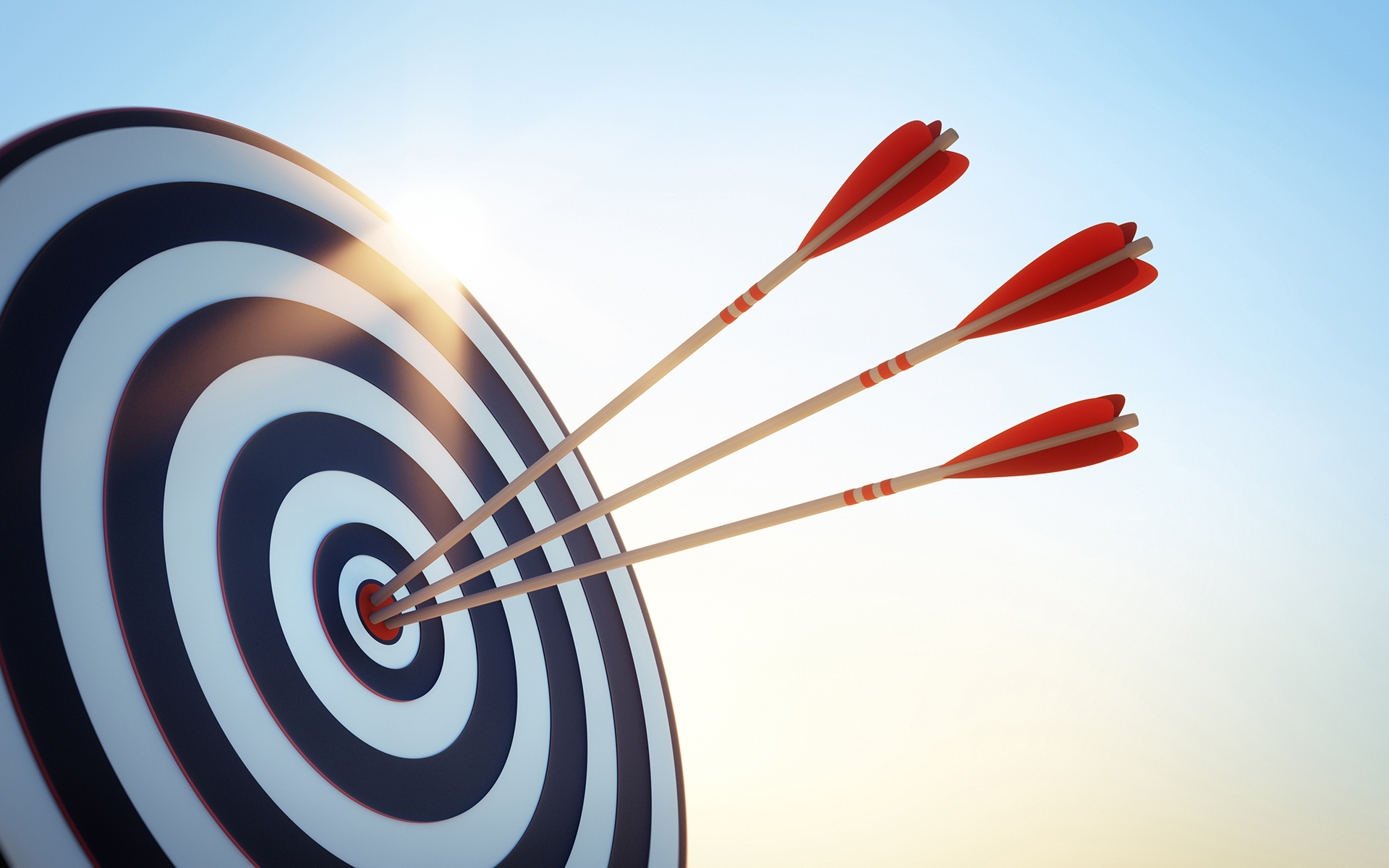 How to Tell if You Are Misaligned With Your Purpose - Three arrows shot at an outdoor target