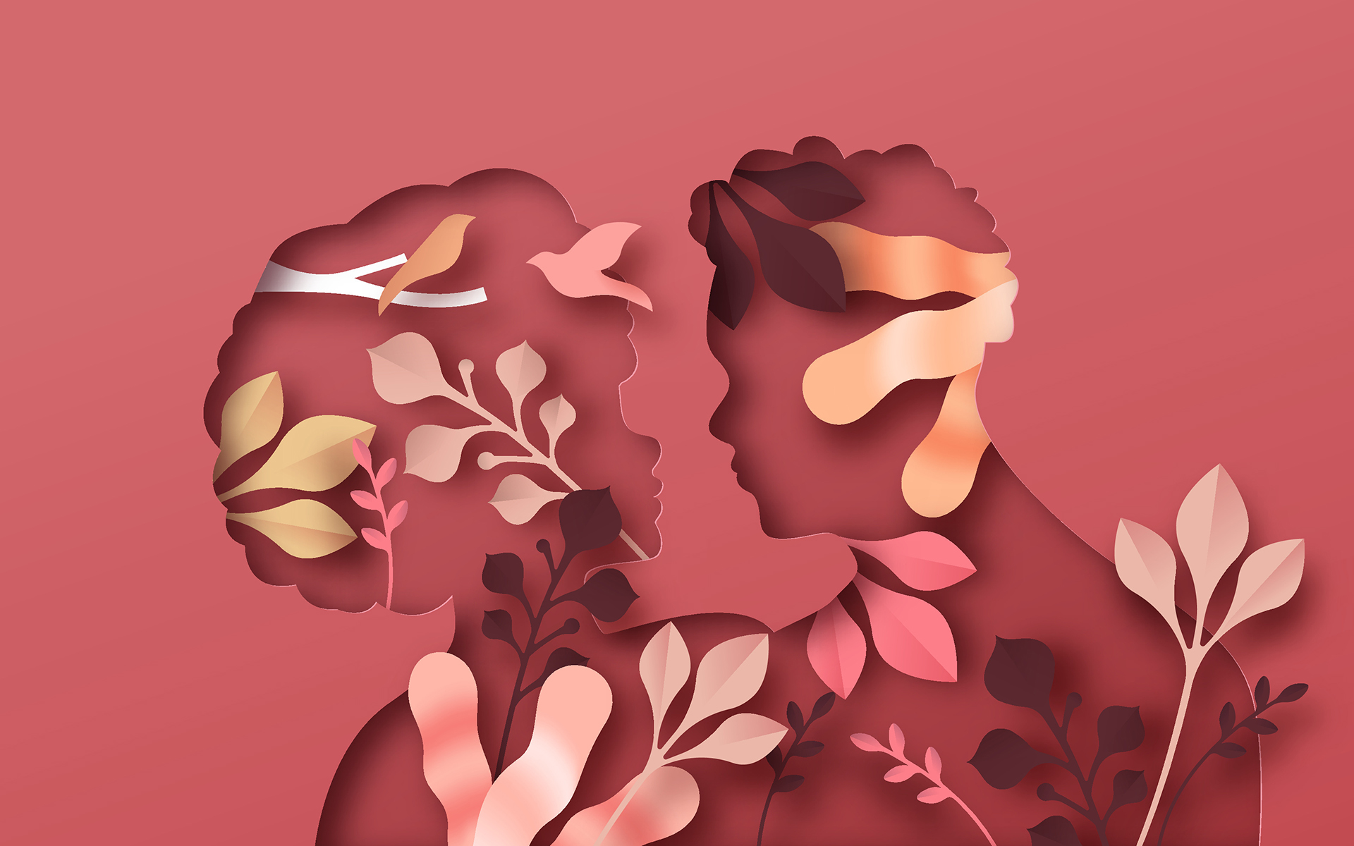 5 Research-Backed Ways to Strengthen Your Marriage - Illustration of a man and woman hugging