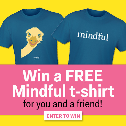 Enter to Win a Free Mindful T-Shirt