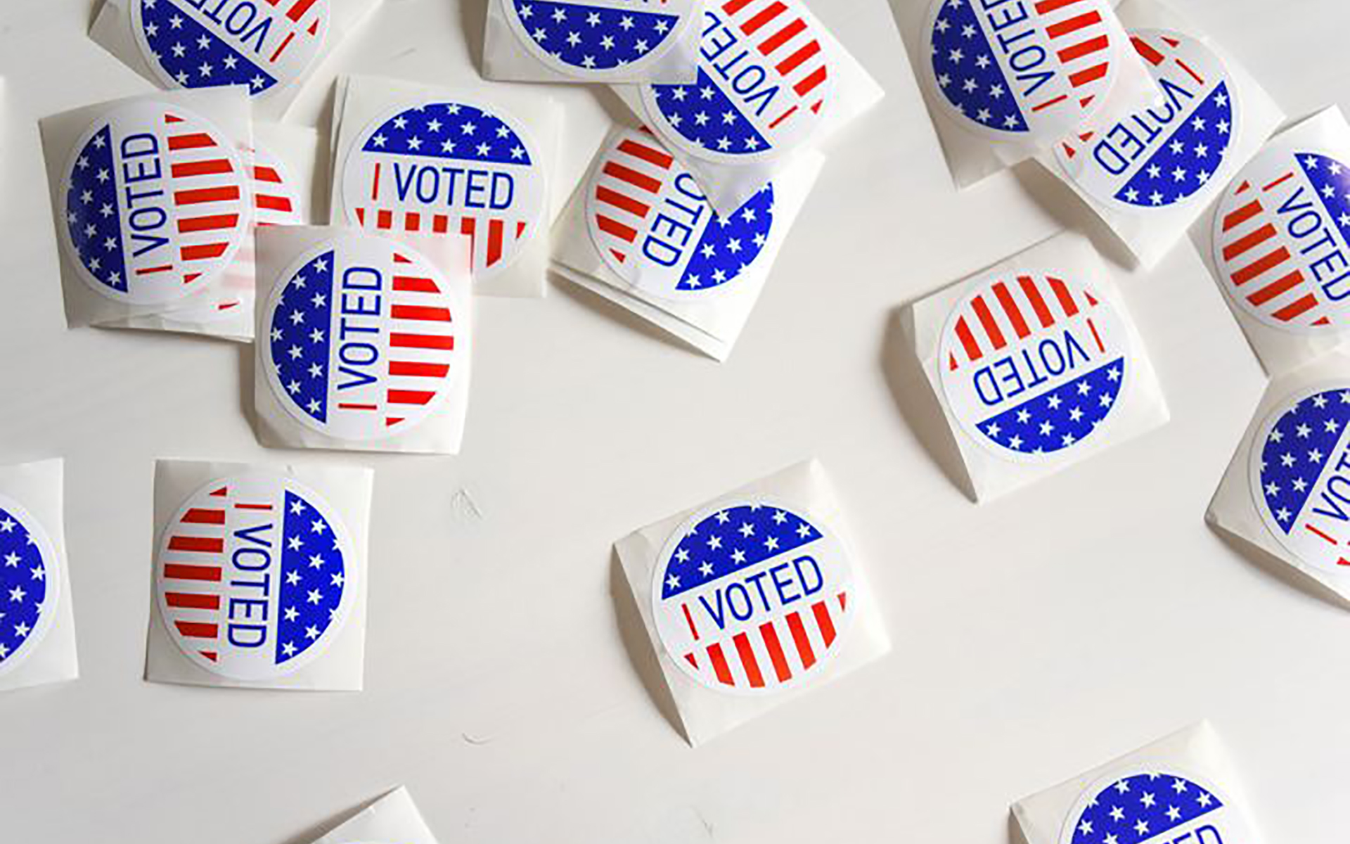 Voting stickers - Psychology of Voting