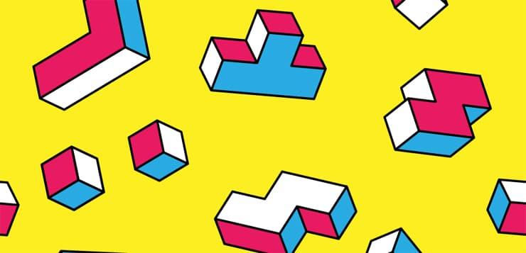 tetris illustration