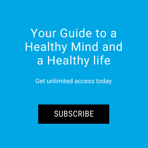 Subscribe to mindful magazine button