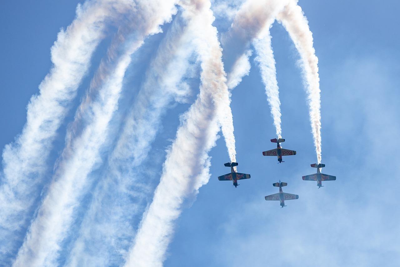 flugshow, aircraft, show