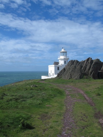 The Lighthouse. Home for Richard and Giselle.