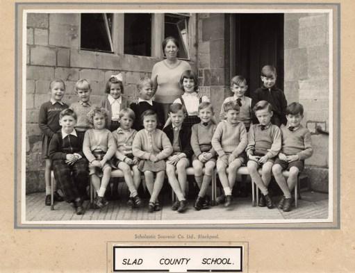 Frank Mansell - Slad School about 1957.