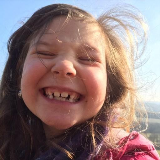 Dreaming - A smiling Kyla May!