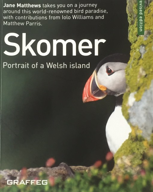 September: Cover of the Skomer book.