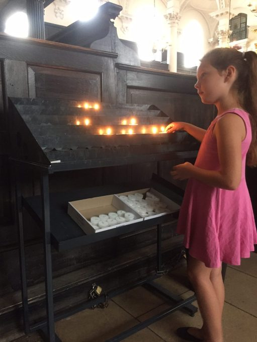 September: Kyla May Lighting a Candle for Diddley.