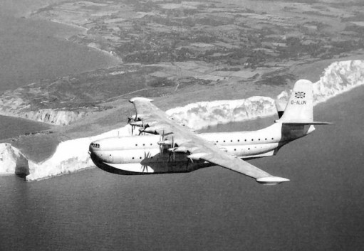 September 1954: Saunders Roe Flying Boat.