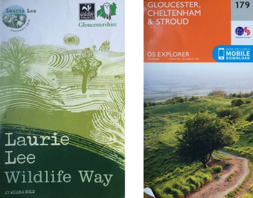 Laurie Lee: Recommended Booklet and OS Map.