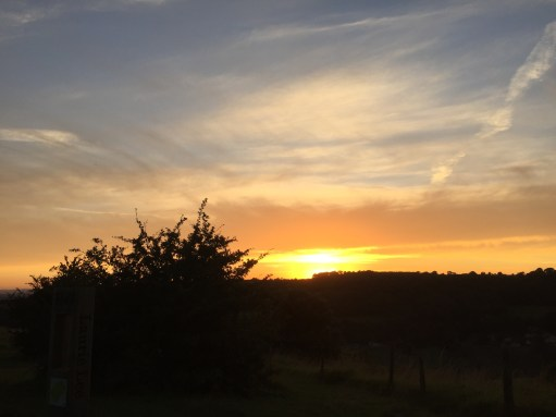 Laurie Lee: Sunset on Swifts Hill