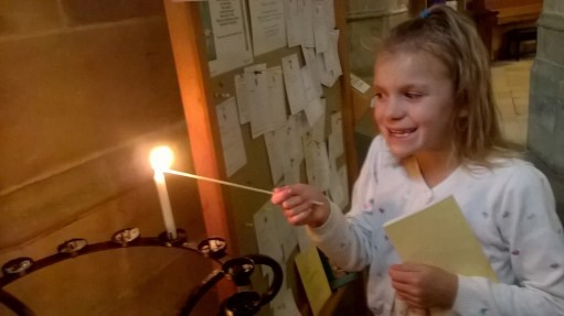 Laurie Lee Poetry Posts: Giselle Lighting her Candle for Diddley