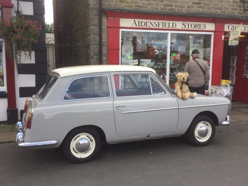North Yorkshire Moors Railway - NYMR - Heartbeat: Austin A40.