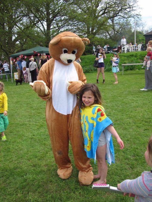 Bobby 2: Kyla at The Teddy Bears' Picnic.