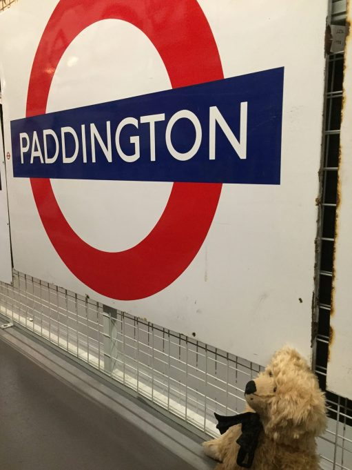 London Transport Museum: Here he is!