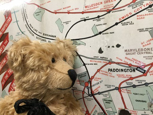 London Transport Museum: Found Paddington!