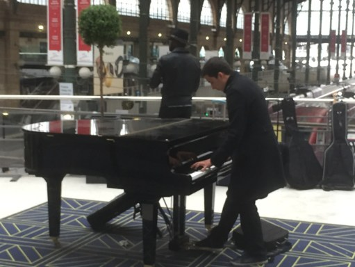 Paris: The Piano Player, Gare Du Nord.