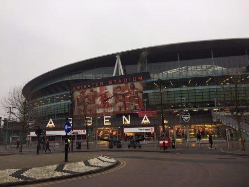 Sutton United: Emirates Stadium, Arsenal.
