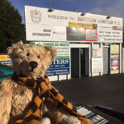 Sutton United: Outside Home!