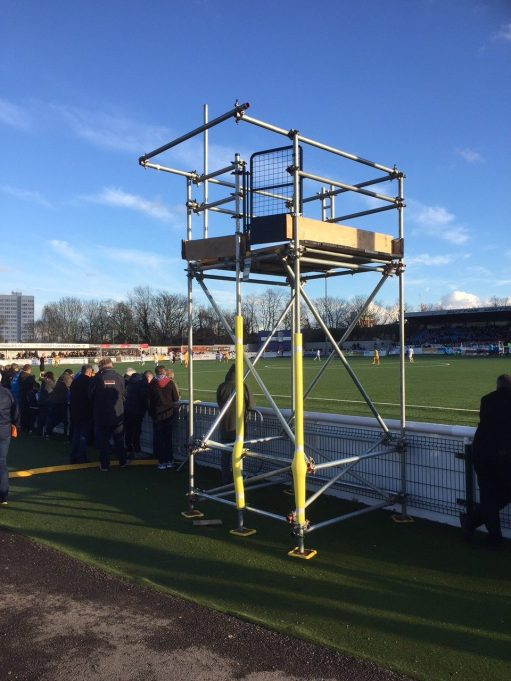Sutton United: A TV tower for one more game, at least.