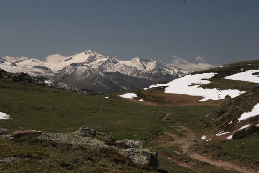 Austria: Grossglockner. Highest mountain in Austria. 12,461 feet.