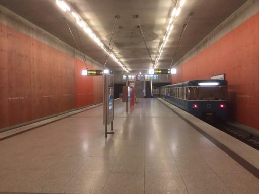 Paris to Munich: And the Underground at Messelstadt.