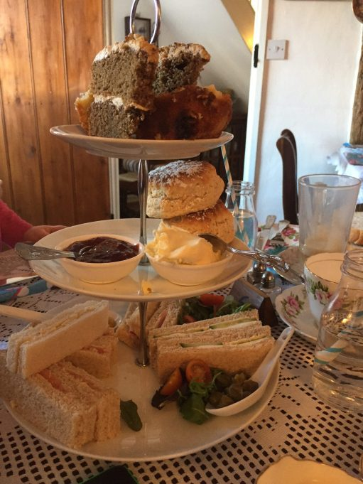 Suffolk: Lavenham High Tea - could do with it now.