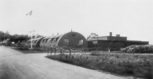 Ernie's War: IWM FRE9648 Nissan huts at RAF Rivenhall.