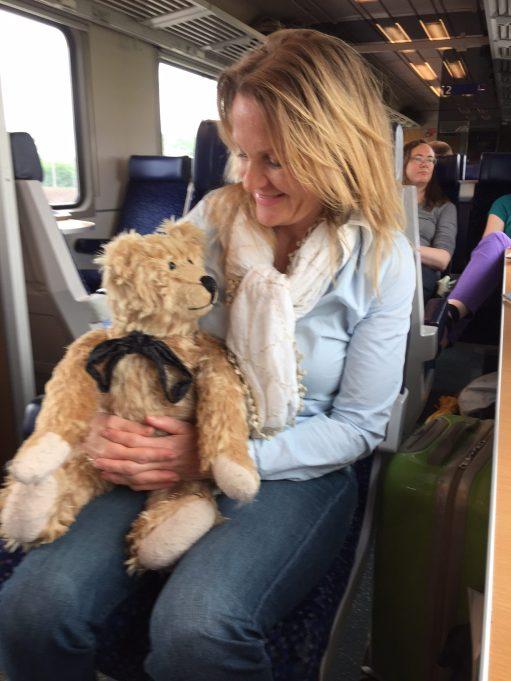 Brief Encounter: Gisele with Bertie.