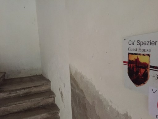 Venice: Ca' Spezier. A guest house, apparently…