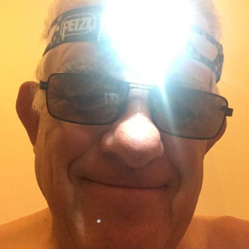 Venice: Prescription sunglasses and a head torch were a very temporary solution.
