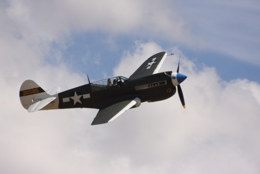 Flying Legends Duxford. Curtiss Hawk.