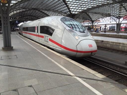 Germany: The ICE Train.