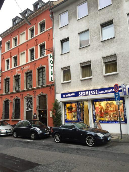 Germany: Cologne - Sexmesse? Ahahahaha!