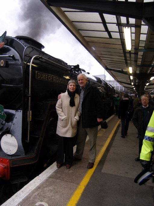 Bob the Big Noisy Engine: The Duke of Gloucester.