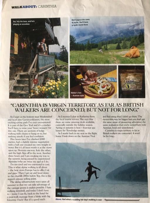 Lammersdorf: Country Walking Magazine - Hidden Austria.